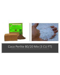 Coco & Perlite 80/20 Mix 3 CU FT (90 Quarts)