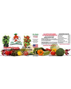 Vegetable Formula (7-14-36) - Easy Mix Fertilizer